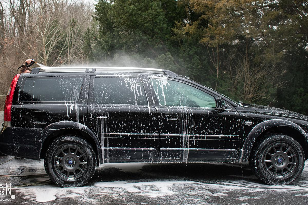 Volvo XC70 Hand Wash Car Wash Detail Services